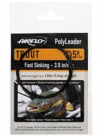 Airflo 5' Polyleaders Trout