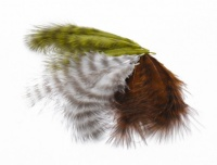 Mini Grizzle Marabou Feathers