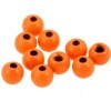 Veniards Painted Countersunk Tungsten Beads Orange
