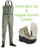 Vision Ikon Zip and Hopper Gummi Waders and Boots Offer